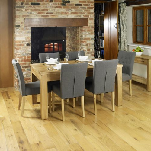 Mobel Oak Medium Dining Table and Chair Sets